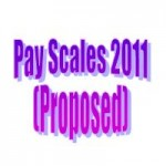 New Pay Scales 2011 (Proposed) Merger Pay Scale (MPS)