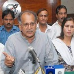 Pakistan Trade Union Leaders Press Conference in Lahore (May 15, 2011)