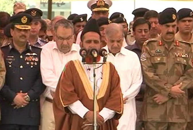 Funeral prayers of DG Rangers in Lahore (pics Gallery)