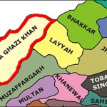 Location Map of Layyah District