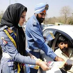 Mobile Canteen for Traffic Wardens in Multan