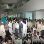 KMC Karachi Employees Protest 27-7-2011