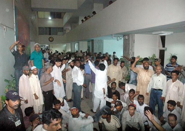 Employees Protests – Salaries of CDGK (KMC) workers Pays in couple of days