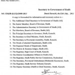 Sindh Notification Pay Scales 2011, Increase in Allowances & Pension 5