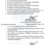 Sindh Notification Pay Scales 2011, Increase in Allowances & Pension 6