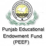 Punjab PEEF Scholarships 2011 for Inter and Matric Pass Students