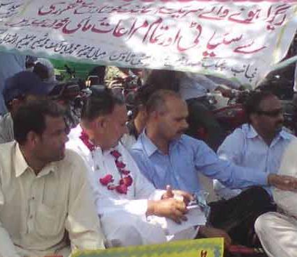 Balochistan teachers 10th Day of Token hunger strike