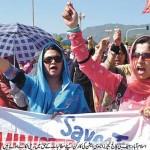 Islamabad FG College Teachers Association Protest on 12-10-2011