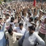 WAPDA Hydro Electric Union Protest in Lahore