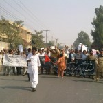 Multan Hydro electric Union workers protest at MEPCO Office