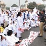 Punjab Nurses Protest in Lahore on 24-11-2011 -11