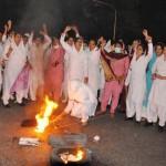 Punjab Nurses Protest in Lahore on 24-11-2011 -18