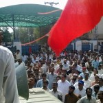 WAPDA Employees Protest in front of MEPCO Office Complex Multan 7
