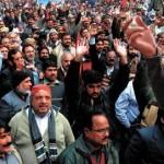Lahore WAPDA Hydro Unin Protest - Khurshed Ahmad Addressing