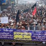 WAPDA Hydro Union Protest Rally in Hyderabad Sindh