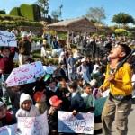 KESC Childrens of Scaked Employees Protest in Karachi