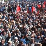 WAPDA Hydro Union Protest against privatization in Lahore