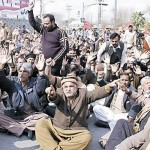 WAPDA Rawalpindi Employees Protest