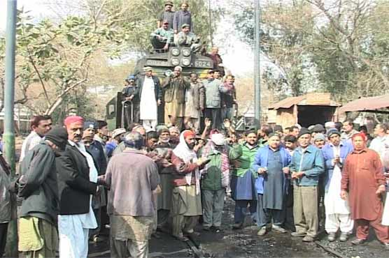 Pakistan Railways Train Drivers Strike