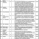 Jobs in Rawalpindi Institute of Cardiology - ad daily express dated 27-6-2012
