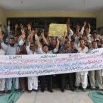 AGPR employees protest