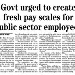 New Pay Scales for public servants