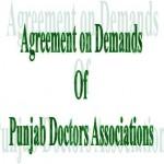 Punjab Doctors Agreement 2012