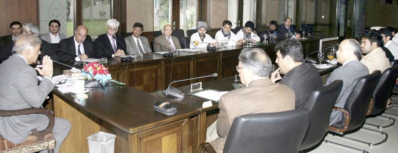 YDA meeting with Shahbaz Sharif CM Punjab