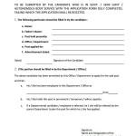 Education University Lahore - Job Application Form 5