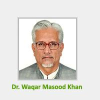 Federal Secretary Finance Dr Waqar Masood Khan