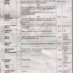 Jobs in IRSA - Indus River System Authority (Advertisement published in daily Nawaiwaqt Multan on 8/5/2013)