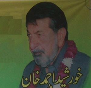 Khurshed Ahmad Khan - WAPDA Hydro Workers Union Labour Leader