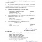 Punjab Schools Education Notification for Lifting ban on transfer Posting 2013 c