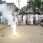 Sialkot Hydro Workers Union celebration in success 1
