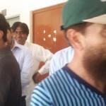 Statanding at Polling Station Multan