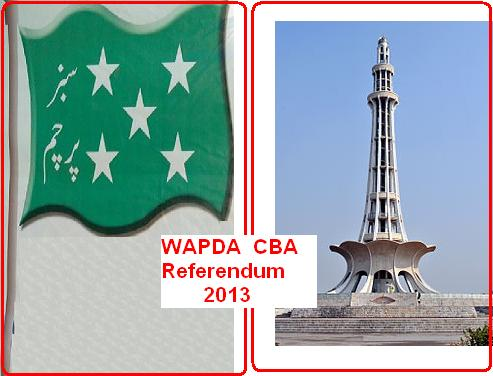 WAPDA CBA Referendum 2013 being held today (29/5/2013)