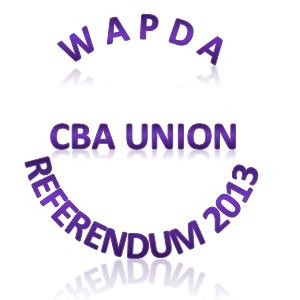 WAPDA Unions Referendum Result 2013