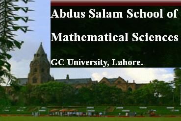 GCU Lahore - Abdus Salam School of Mathematics