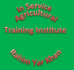In Service Agricultural Training Institute Rahim Yar Khan, Admission in 3Years Diploma in Agricultural Sciences 2013-14
