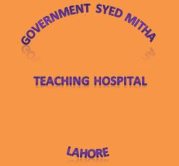 Syed Mittha Teaching hospital Lahore