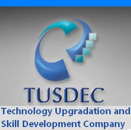 Technology Upgradation and Skill Development Company (TUSDEC) Logo