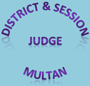 District and Session Judge Multan Logo