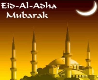 Eid ul Adha Mubarak 2013