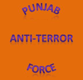 Punjab Anti-Terror Force Recruitment/Jobs in October, 2013