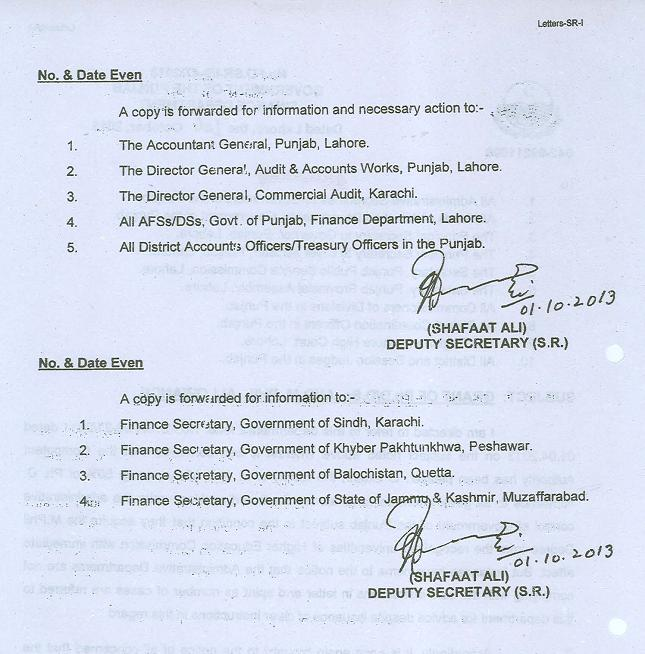 Punjab Govt Clarification Regarding Ph.D, M.Phil Allowance for Employees (page 2/2)
