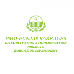PMO Punjab Barrages Projects, Irrigation Department Logo