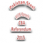 Pakistan Steel Labor Union CBA Election 2013