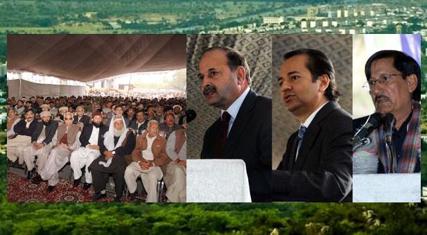 CDA Chairman Maroof Afzal, CBA Union Leader Ch Muhammad Yasin Addressing in Islamabad
