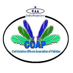 Civil Aviation Officers Association of Pakistan (COAP) Logo