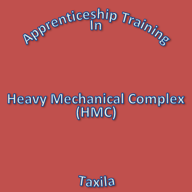 Recruitment of Apprentices in HMC Taxila